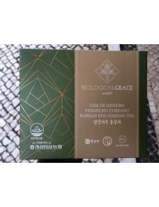 Biological Grace 50 Saquetas de chá com 10% de Extracto Gold Ginseng (Insam) Vermelho Coreano