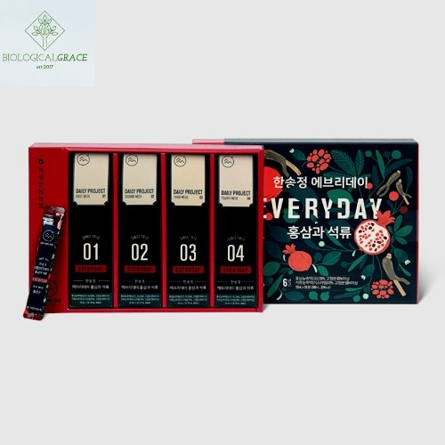 Extracto Red  Ginseng Coreano & Pomegranate